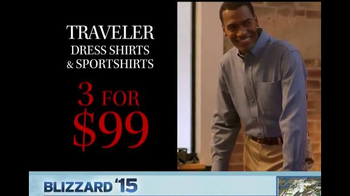 JoS. A. Bank TV Spot, 'Three for $99 Traveler Dress and Sportshirts' - Thumbnail 4