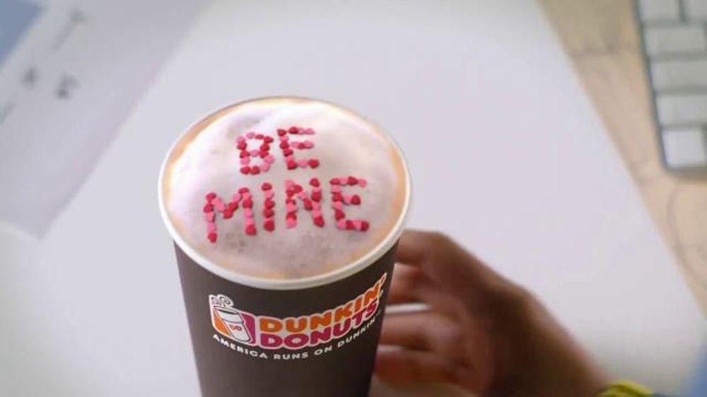 White Chocolate Raspberry Coffee Dunkin Donuts