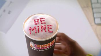 Dunkin' Donuts White Chocolate Raspberry Lattes and Coffees TV Spot