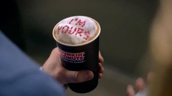 Dunkin' Donuts White Chocolate Raspberry Lattes and Coffees TV Spot - Thumbnail 4