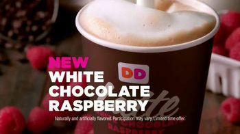 Dunkin' Donuts White Chocolate Raspberry Lattes and Coffees TV Spot - Thumbnail 7