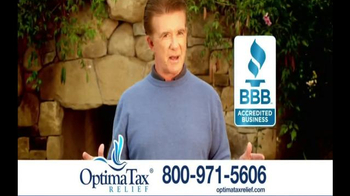 Optima Tax Relief TV Spot, 'Game Changing Relief for Debt' Ft. Alan Thicke - Thumbnail 8