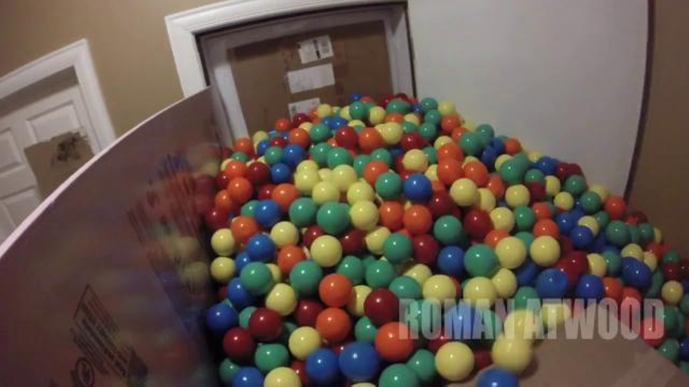 Nissan Super Bowl 2015 Campaign TV Commercial, 'Roman Atwood's Ball Pit Prank'