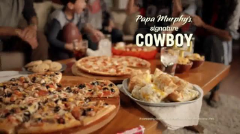 Papa Murphy's Pizza The Cowboy TV Spot, 'The Game Plan' - Thumbnail 6