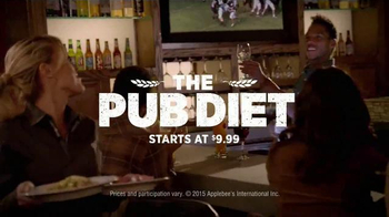 Applebee's TV Spot, 'Introducing the Pub Diet' - Thumbnail 9