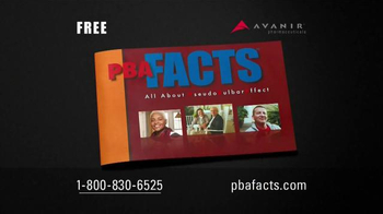 PBA Facts TV Spot, 'Learn More' Featuring Danny Glover - Thumbnail 5