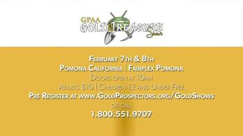 Gold Prospectors Association of America TV Spot, 'Gold & Treasure Shows' - Thumbnail 9