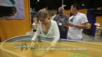 Gold Prospectors Association of America TV Spot, 'Gold & Treasure Shows' - Thumbnail 2