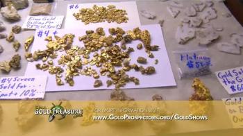 Gold Prospectors Association of America TV Spot, 'Gold & Treasure Shows' - Thumbnail 5