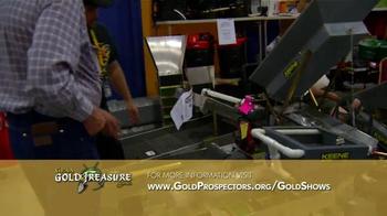 Gold Prospectors Association of America TV Spot, 'Gold & Treasure Shows' - Thumbnail 6