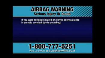 Pulaski & Middleman TV Spot, 'Airbag Warning' - Thumbnail 2