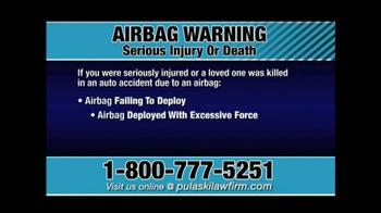 Pulaski & Middleman TV Spot, 'Airbag Warning' - Thumbnail 3