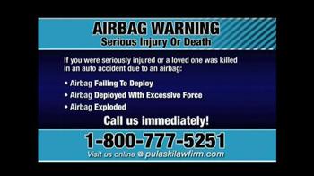 Pulaski & Middleman TV Spot, 'Airbag Warning' - Thumbnail 4