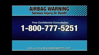 Pulaski & Middleman TV Spot, 'Airbag Warning' - Thumbnail 5