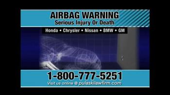 Pulaski & Middleman TV Spot, 'Airbag Warning' - Thumbnail 6
