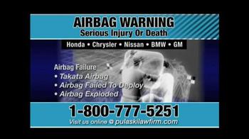 Pulaski & Middleman TV Spot, 'Airbag Warning' - Thumbnail 8