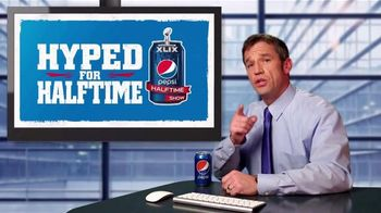 Pepsi TV Spot, 'Critical Halftime Hype' - 1 commercial airings