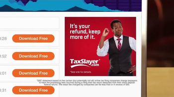 TaxSlayer.com TV Spot, 'Buck' - Thumbnail 7