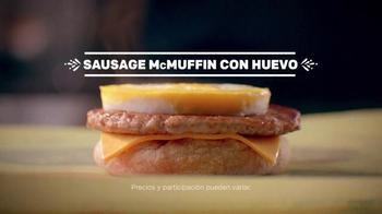 McDonald's Sausage McMuffin con Huevo TV Spot, 'Huevo Perfecto' [Spanish] - Thumbnail 9