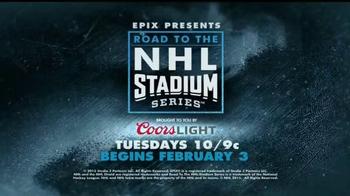 EPIX TV Spot, 'Road to the NHL Stadium Series'