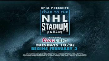 EPIX TV Spot, 'Road to the NHL Stadium Series' - Thumbnail 9