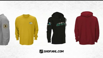 NHL Shop TV Spot, 'Selection of Hoodies, Tees and More'