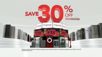 h.h. gregg Super Sale TV Spot, 'Savings Lineup' - Thumbnail 3