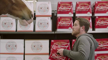 Budweiser Super Bowl 2015 Preview TV Spot, 'Clydesdale Beer Run' - Thumbnail 8