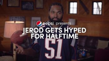 Pepsi: Hyped for Halftime: Jerod Mayo Gets Hyped