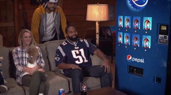 Pepsi TV Spot, 'Hyped for Halftime: Jerod Mayo Gets Hyped' - Thumbnail 6