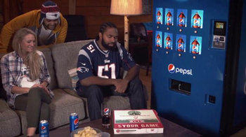 Pepsi TV Spot, 'Hyped for Halftime: Jerod Mayo Gets Hyped' - Thumbnail 8