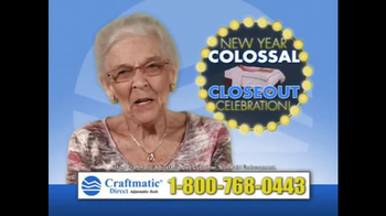 Craftmatic Collossal Closeout Celebration TV Spot, 'Call and Decide' - Thumbnail 4