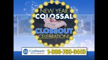 Craftmatic Collossal Closeout Celebration TV Spot, 'Call and Decide'