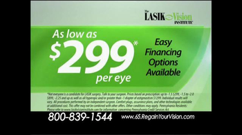 The LASIK Vision Institute TV Spot, 'Tired of Glasses and Contacts?' - Thumbnail 10