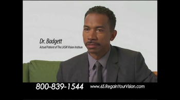 The LASIK Vision Institute TV Spot, 'Tired of Glasses and Contacts?' - Thumbnail 8