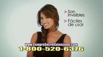 Secret Extensions TV Spot, 'Se Integra Perfectamente' [Spanish]