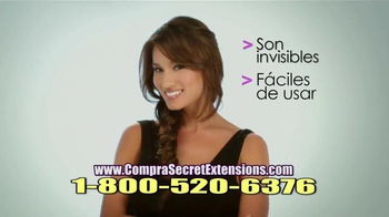 Secret Extensions TV Spot, 'Se Integra Perfectamente' [Spanish]