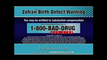 Pulaski & Middleman TV Spot, 'Zofran Birth Defect Warning' - Thumbnail 10