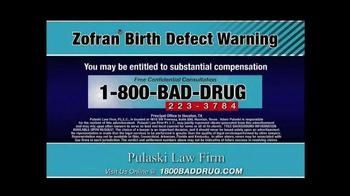 Pulaski & Middleman TV Spot, 'Zofran Birth Defect Warning' - Thumbnail 9