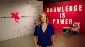 The More You Know TV Spot, 'Education: Leave a Mark' Ft. Erika Christensen