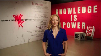 The More You Know TV Spot, 'Education: Leave a Mark' Ft. Erika Christensen - Thumbnail 1