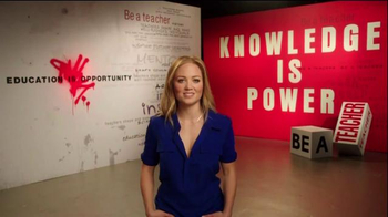 The More You Know TV Spot, 'Education: Leave a Mark' Ft. Erika Christensen - Thumbnail 3