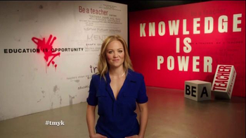 The More You Know TV Spot, 'Education: Leave a Mark' Ft. Erika Christensen - Thumbnail 4
