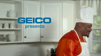 GEICO TV Spot, 'The Ickster: What's Cooking With Ickey?' Feat. Ickey Woods - Thumbnail 1