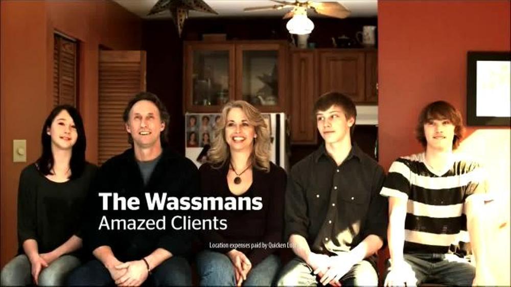 Quicken Loans TV Commercial, 'The Wassmans' - Video