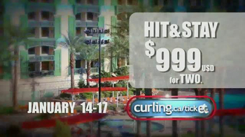 Canadian Curling Association TV Spot, '2016 WFG Continental Cup of Curling' - Thumbnail 5