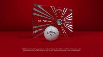 Callaway Chrome Soft Golf Balls TV Spot, 'Fast vs. Soft' - Thumbnail 8