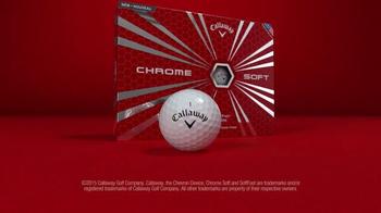 Callaway Chrome Soft Golf Balls TV Spot, 'Fast vs. Soft' - Thumbnail 7