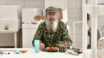 Zaxby's Boneless Wings Meal TV Spot, 'Chickenflage' Featuring Si Robertson - Thumbnail 1