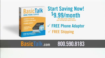 BasicTalk TV Spot, 'Reliable Home Phone Service' - Thumbnail 10